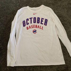 Chicago cubs nike longsleeve t shirt